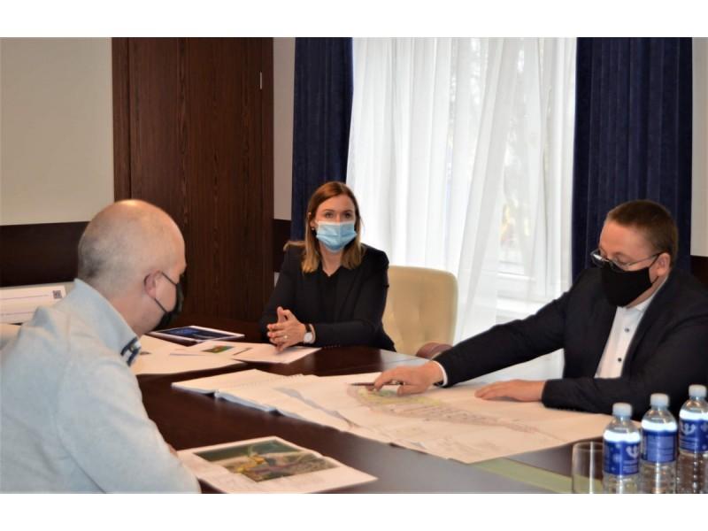 Meras Šarūnas Vaitkus turėjo ką parodyti Aplinkos apsaugos ministrui Simonui Gentvilui