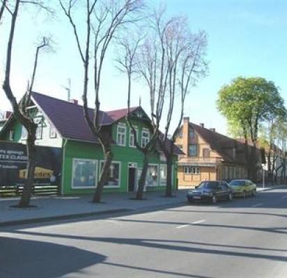 Palangos miesto istorinė dalis. Vytauto g. šiaurės vakarų pusės užstatymas.