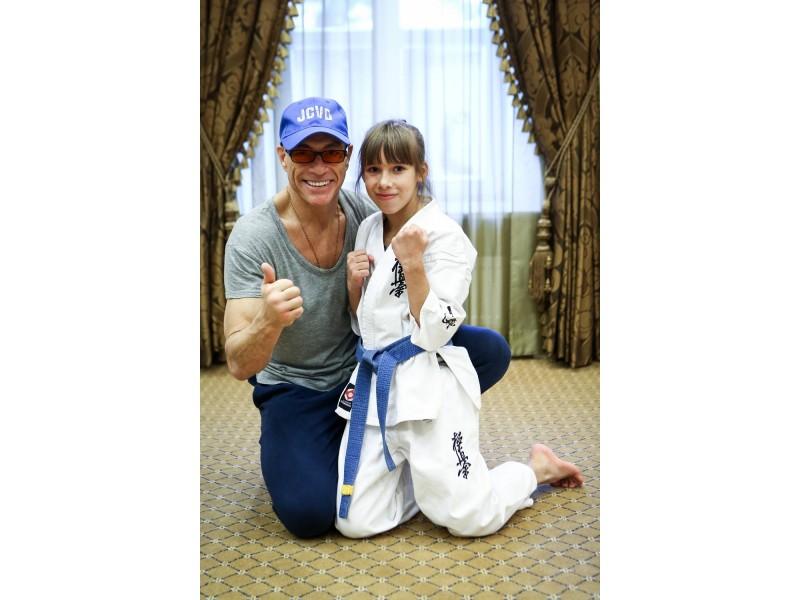 Palangiškė dalyvavo treniruotėje su kino legenda Jean Claude Van Damme