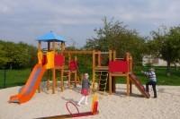 Šeimų kurortu siekiančioje tapti Palangoje – naujos žaidimų aikštelės vaikams