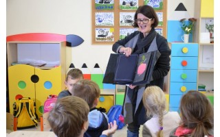 Edukaciniai užsiėmimai Palangos sanatorinėje mokykloje