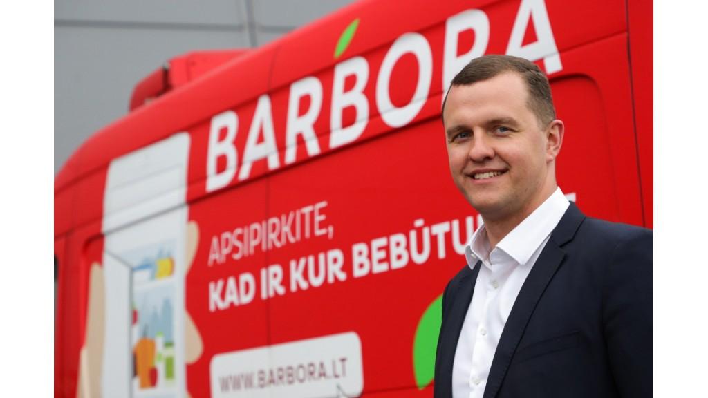 """Palangoje atsidarė """"Barbora Express"""" pirkinių atsiėmimo stotelė"""