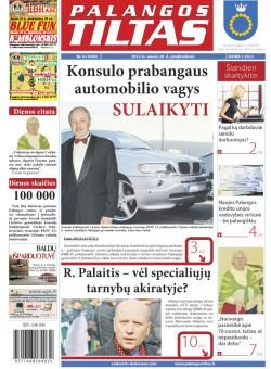 Palangos tilto laikraštis, Data: 2012-01-19, Numeris: 6 (1049)