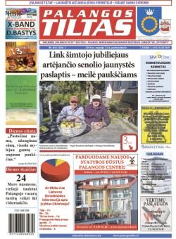 Palangos tilto laikraštis, Data: 2014-09-11, Numeris: 68(1306)