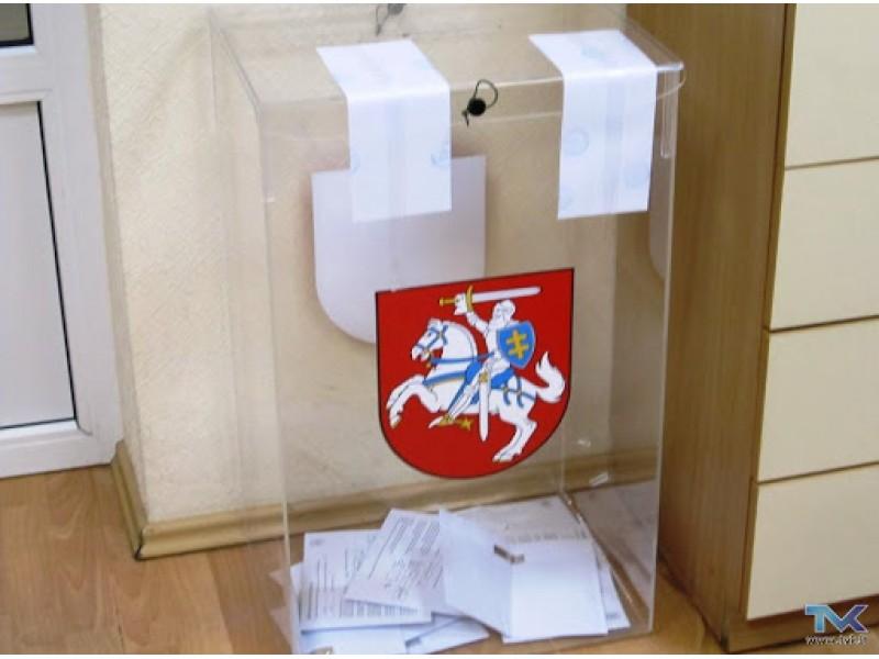VRK patvirtino rinkimų apylinkių ribas - Palangoje bus 2 apylinkėmis mažiau