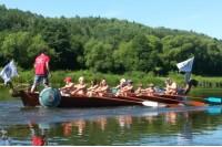 Irkluotojų varžybos Šventosios upe