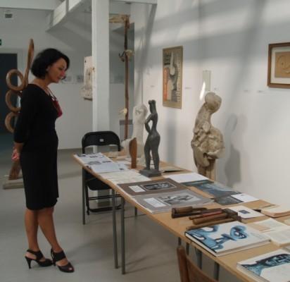 Antrajame muziejaus aukšte nuolat veikia A. Mončio ekspozicija.