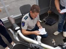"""""""Visoje Palangoje yra registruoti maždaug penki elektrodviračiai"""", – sakė Palangos policijos komisariato vyr. specialistas Petras Mačiulis."""