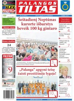 Palangos tilto laikraštis, Data: 2012-05-03, Numeris: 33 (1076)