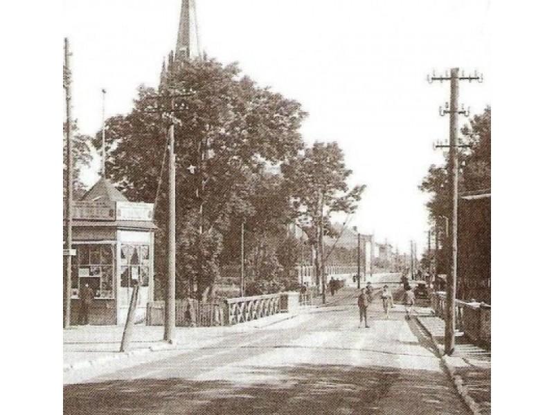 """Vytauto gatvė. 1925 m. Iš """"Lietuva senose fotografijose""""."""