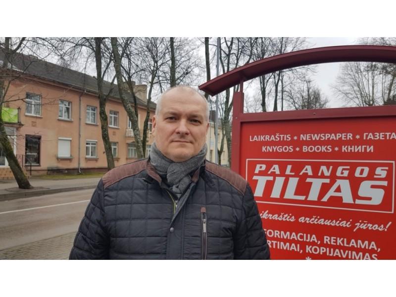 """BC """"Palanga"""" vadovas Arūnas Vaitulionis"""