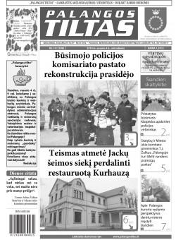 Palangos tilto laikraštis, Data: 2014-02-03, Numeris: 10(1248)
