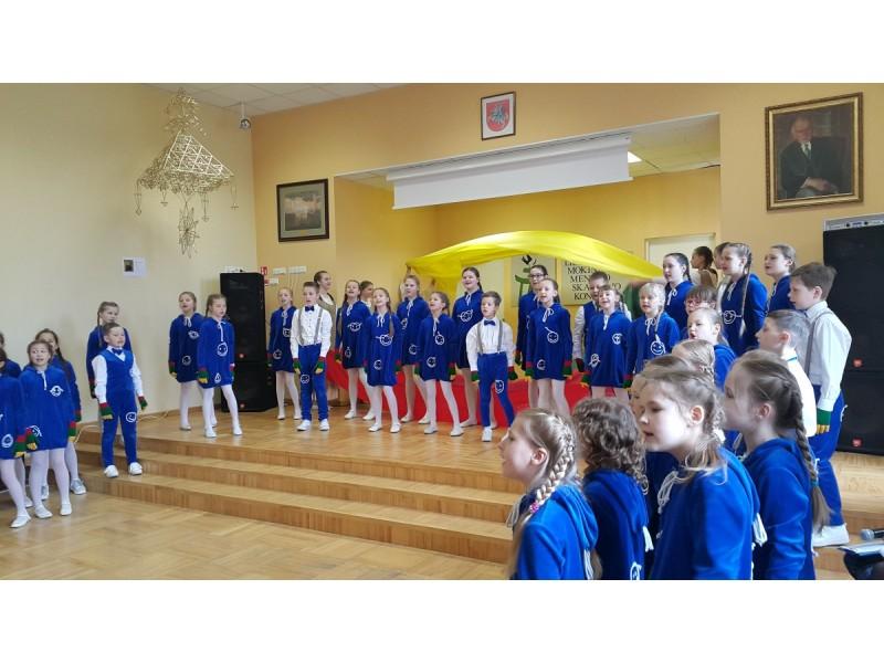 Meninio skaitymo skaitovai rinkosi į Palangos Vlado Jurgučio pagrindinę mokyklą