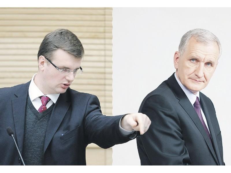 (Fotomontažas) Vaidotą Bacevičių TS-LKD Taryba patvirtino konservatorių kandidatu vienmandatinėje Palangos miesto- Kretingos rajono rinkimų apygardoje.