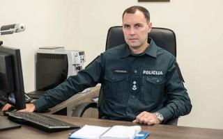 44-erių palangiškis Gintautas Pocevičius, tapęs Plungės  rajono policijos komisaru, kasdieninės kelionės nesibaido