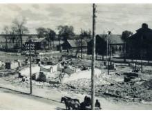 Palanga po didžiojo 1938 m. gaisro.