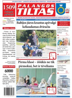 Palangos tilto laikraštis, Data: 2016-06-27, Numeris: 47(1481)
