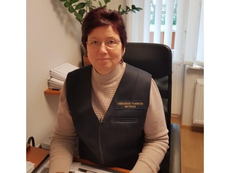 VTS vedėjo pavaduotoja Danutė Mikienė.