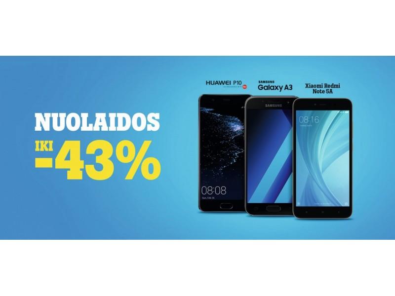"""""""Tele2"""" nuolaidų pavasaris: išmanieji – nuo 3,25 Eur per mėnesį"""