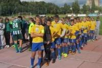Palangos sporto centro jaunieji futbolininkai sėkmingai rungtyniauja