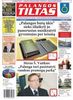 Palangos tilto laikraštis, Data: 2014-01-09, Numeris: 3 (1241)