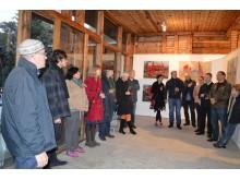 """Plenero """"Lokacija: Kurhauzas"""" dalyviai pristatė savo darbų parodą."""