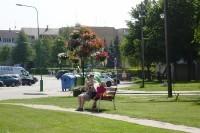 Palangiškių patogumui – nauji suolai viešosiose erdvėse