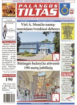 Palangos tilto laikraštis, Data: 2014-09-08, Numeris: 67(1305)