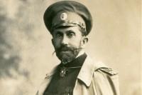 Rusų kariuomenės papulkininkis V. M. Ramanauskas. 1906 m.
