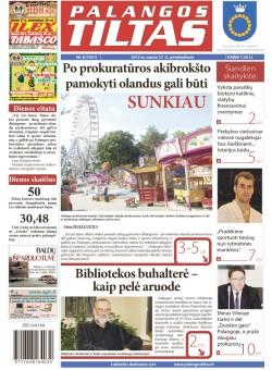 Palangos tilto laikraštis, Data: 2012-01-26, Numeris: 8 (1051)