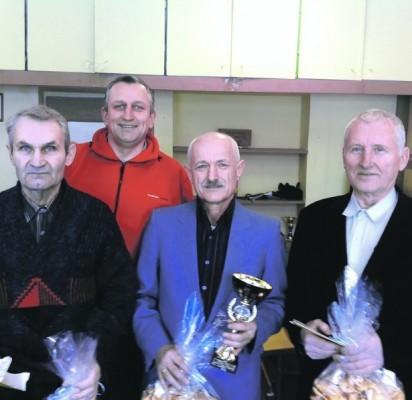 (iš kairės) P. Adomaitis, E. Židanavičius, V. Gelžinis ir K. Dirgėlas.
