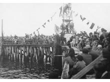 Jūros šventė ant Palangos tilto, 1939 m. rugpjūtis.