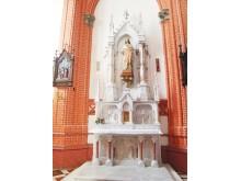 Šoninis bažnyčios Švč. Jėzaus širdies altorius.