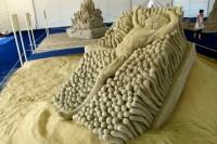Šios vasaros naujienos: Palangoje – smėlio skulptūrų ekspozicija ir traukinukas