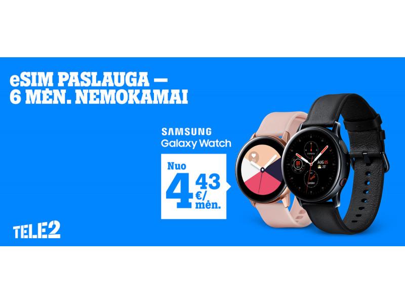 """Vasariški""""Tele2"""" pasiūlymai: nuolaidos išmaniesiems laikrodžiams, telefonams ir planšetėms"""
