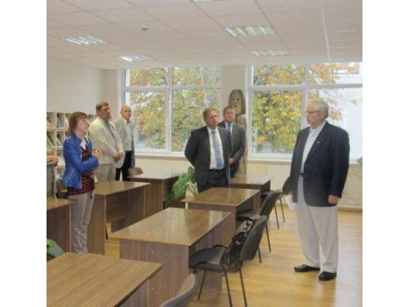 Ekspoziciją pristatė Palangos vandentiekiu dar ir dabar dažnai pavadinamos įmonės buvęs vadovas V. B. Litvaitis.