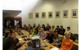 Savivaldybėje lankėsi Baltarusijos žurnalistai