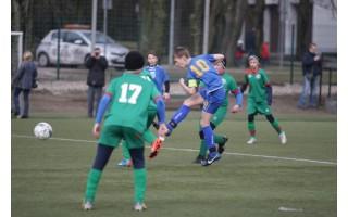 Jaunieji Palangos futbolininkai išbandė jėgas Latvijoje