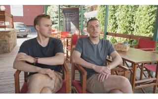 Grįžę dėl karantino nusprendė pasilikti: geriausi draugai emigrantai įsikūrė Palangoje ir atidarė restoraną