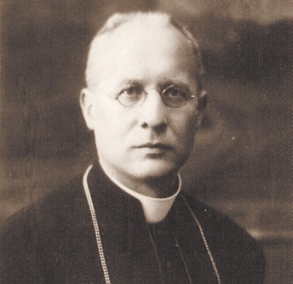 Šventosios koplyčios statytojas prelatas kunigas Jurgis Galdikas. Nuotrauka iš J.Galdiko dukterėčios A.M.Kaunaitės-Lengvinienės archyvo.