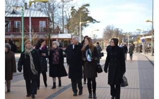 Valstybinė kultūros paveldo komisija dairėsi po Palangą