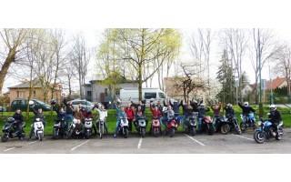 Prie Ronžės burzgė jaunieji motociklininkai