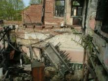 Mūrinė Kurhauzo dalis 2008 m. Vidaus vaizdas. I. Kačinskaitės nuotr.
