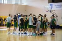 Lietuvos nacionalinė krepšinio rinktinė surengė treniruočių stovyklą Palangoje