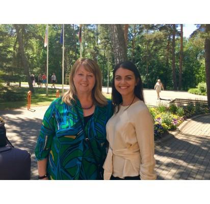Savivaldybėse iniciatyvos imasi drąsūs ir aktyvūs LSDP nariai. LSDP Palangos skyriaus kandidatė į Palangos miesto savivaldybėsmerus – skyriaus narių pasitikėjimą pelniusi Svetlana Grigorian.
