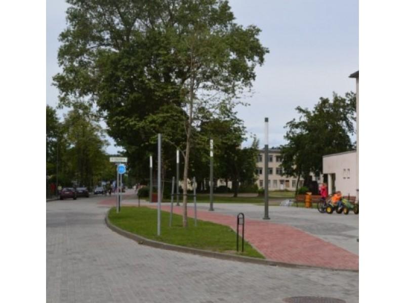 Aikštėje prie rekonstruotos Jūratės gatvės užgros fontanas