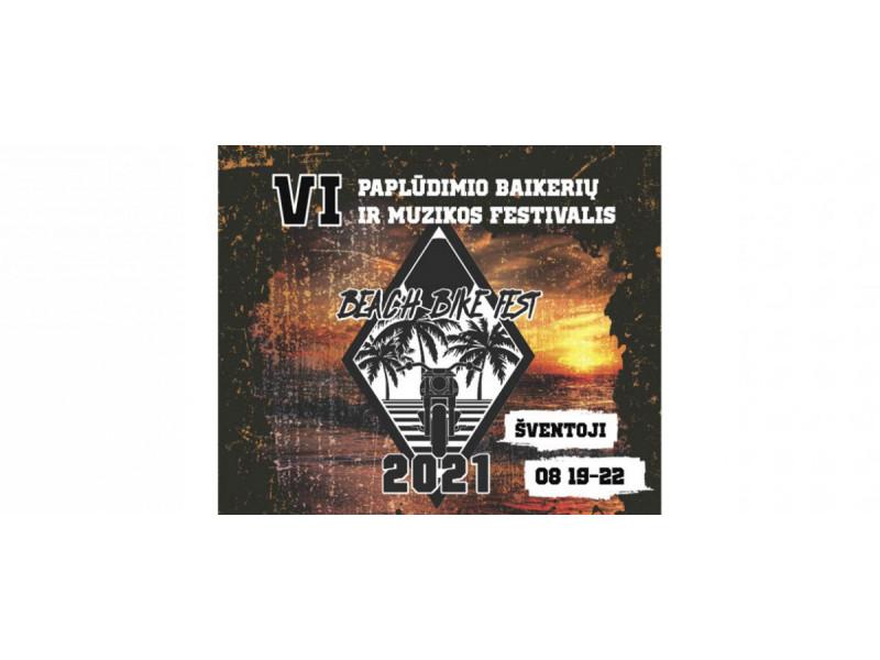 """Į Šventąją atkeliauja paplūdimio baikerių festivalis """"Beach Bike Fest 2021"""" (PROGRAMA)"""