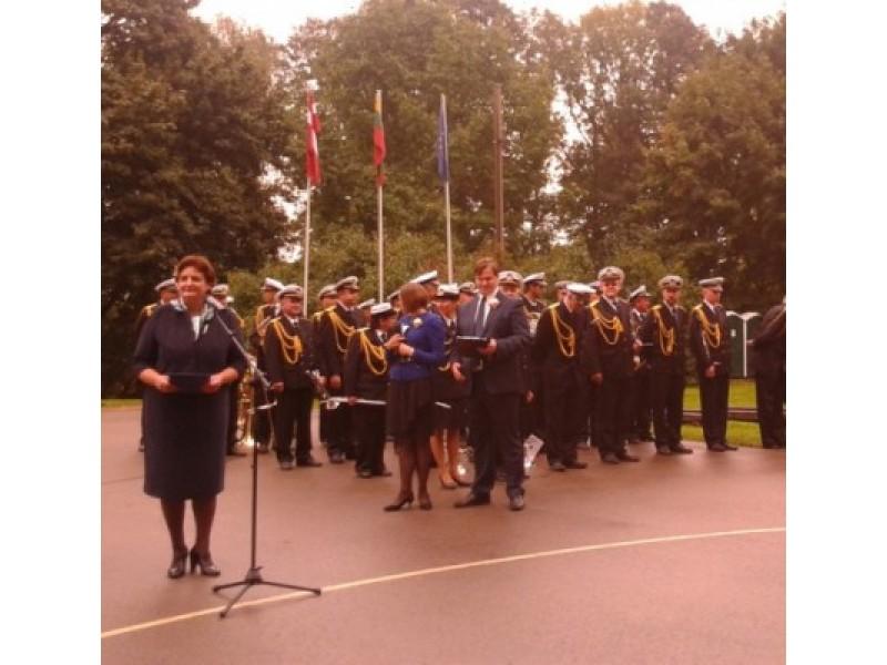 Baltų vienybės dienoje Rucavoje apsilankė garbingi svečiai
