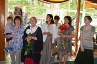 Vasaros skaitykloje – keturių vienos šeimos menininkių paroda