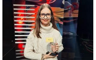 """Projekte """"Lietuvos tūkstantmečio vaikai"""" palangiškė Mūza Svetickaitė iškovojo jau ketvirtą pergalę"""